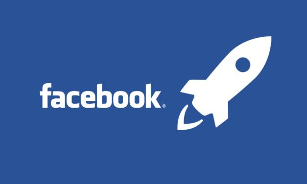 [페이스북] 로켓 우주선 아이콘을 보셨나요?