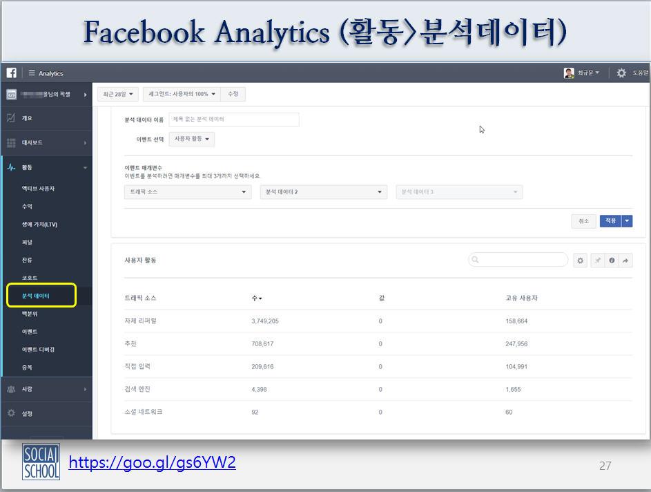 페이스북애널리틱스_활동_분석데이터