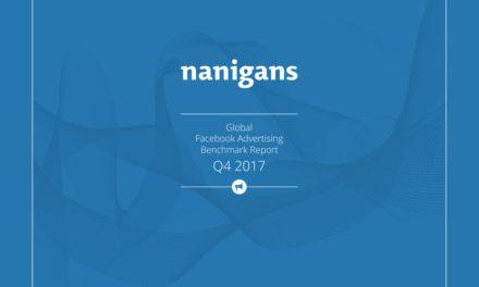 [페이스북] 2017-4분기 글로벌 평균 광고단가는?